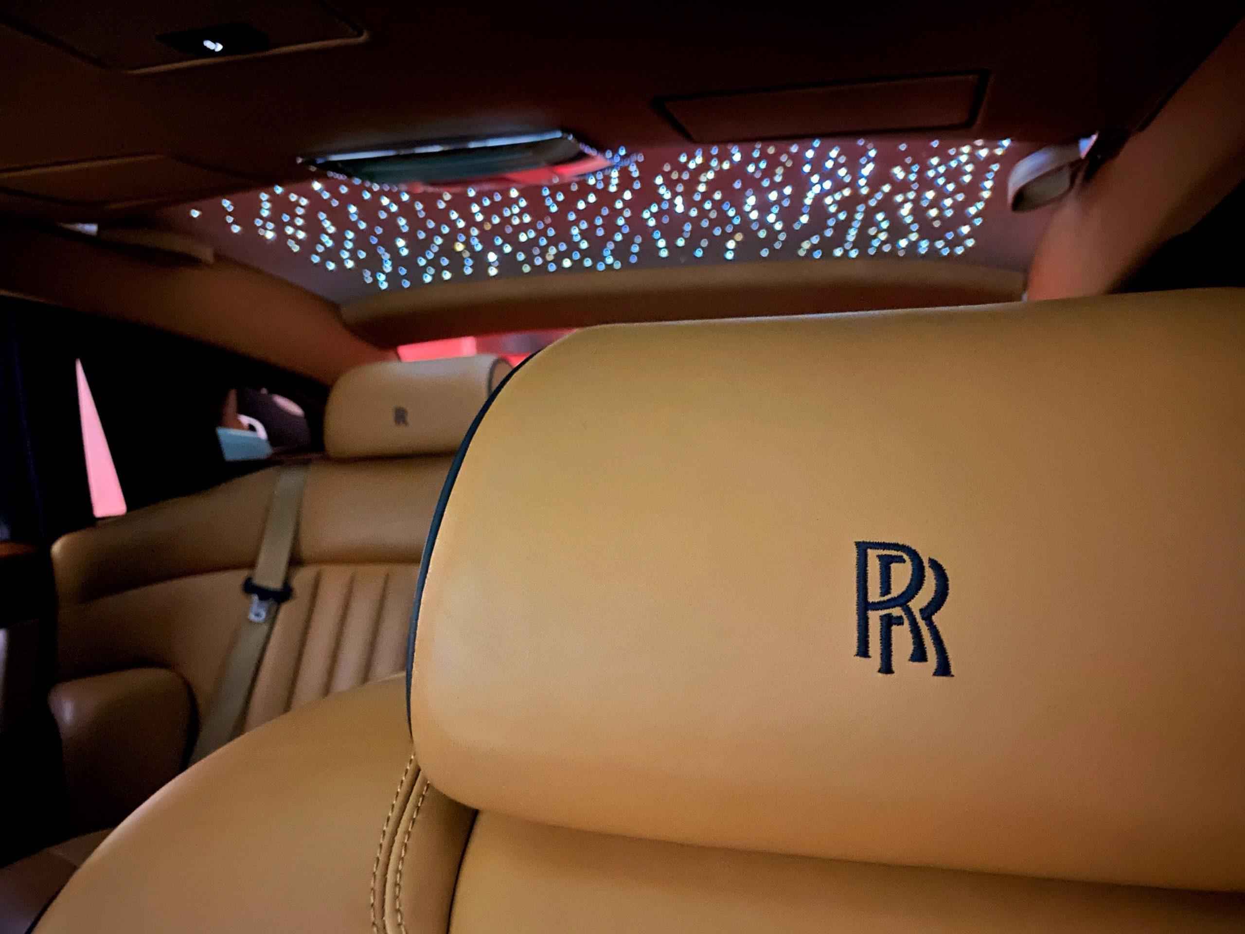 Rolls Royce Phantom Interior